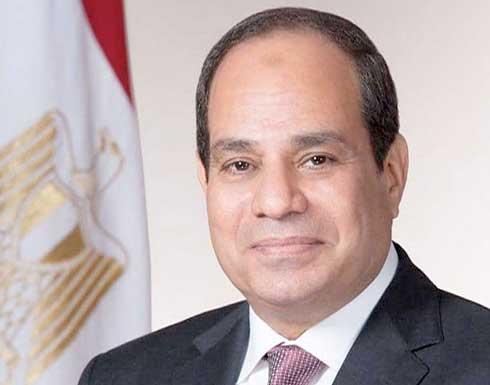 السيسي: مصر تبذل جهودًا لقف إطلاق النار بين الإسرائيليين والفلسطينيين