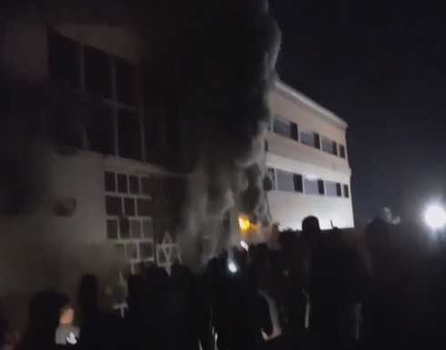 قتلى في حريق مركز عراقي لعزل مصابي كورونا في الناصرية .. بالفيديو