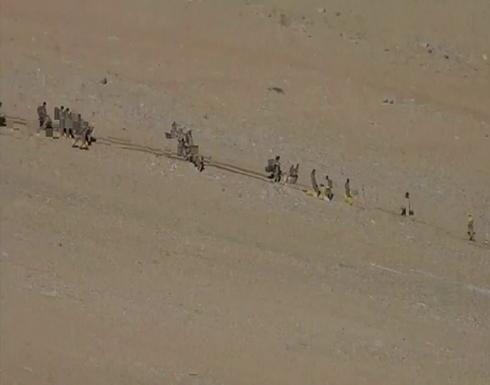 شاهد : انسحاب القوات والمركبات الصينية والهندية من منطقة حدودية متنازع عليها
