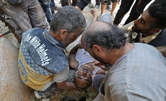 شاهد : آثار الدمار في ريف إدلب الجنوبي جراء غارات النظام السوري المدعوم بقوات روسية
