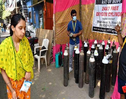 الهند: عدد الإصابات بفيروس كورونا يتجاوز عشرين مليونا