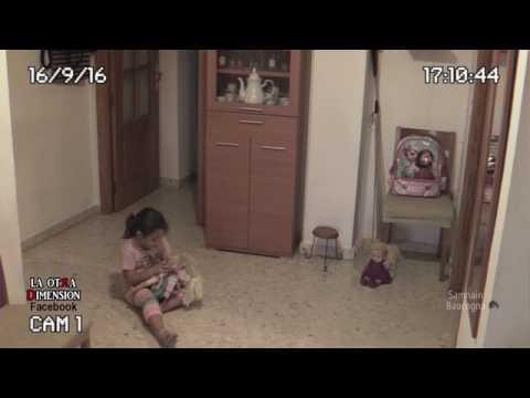 بالفيديو: دمية مسكونة بالأشباح تثير رعب طفلة