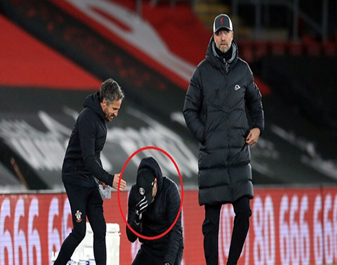بالفيديو.. مدرب ساوثهامبتون يبكي بعد فوز فريقه على ليفربول