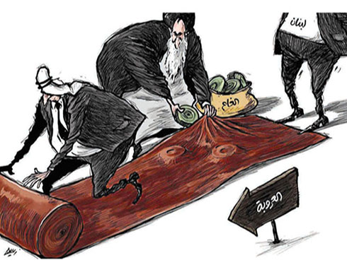 الغام ايران