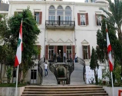 الخارجية اللبنانية تدين الغارات الإسرائيلية على سوريا