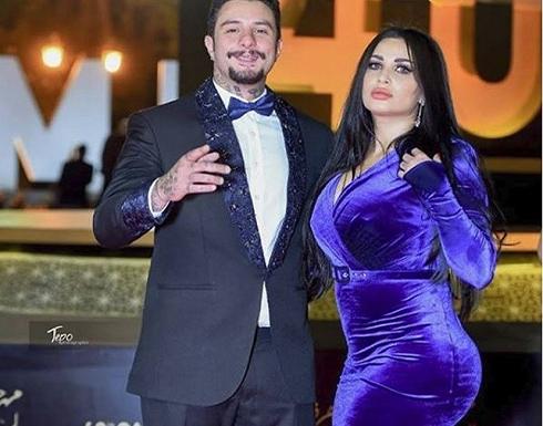 """بالفيديو : زوجة """"أحمد الفيشاوي"""" ترقص في الشارع"""