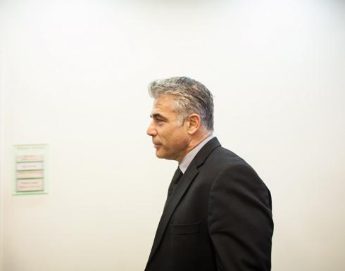 لبيد:  مشكلة غزة  الإنسانية تنعكس علينا، لذا يجب حلها