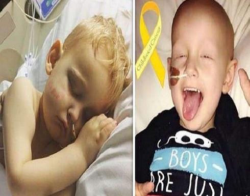 بالصور : طفل صغير يعتذر لأمه قبل موته