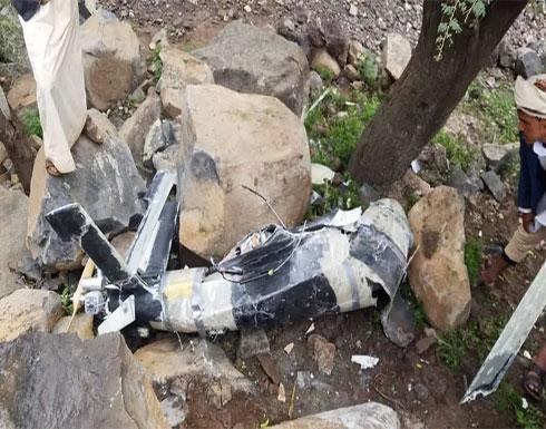 """الجيش اليمني يسقط درون حوثية بصعدة.. """"مصنوعة في إيران"""""""