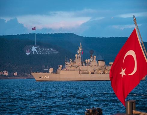 """شاهد : الجيش التركي يجري تدريبات بحرية وجوية في """"إيجه"""""""