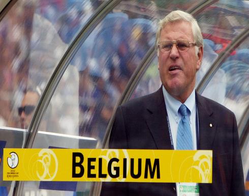 وفاة مدرب بلجيكا السابق