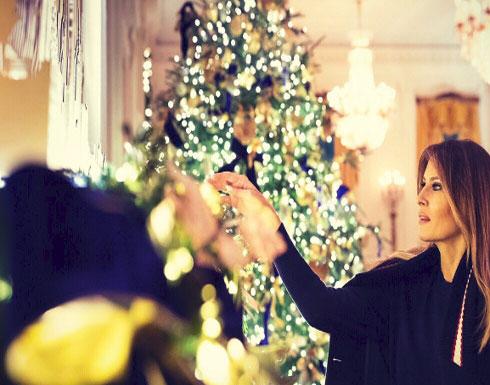 البيت الأبيض يرتدي حلّة الميلاد.. ميلانيا تنشر هذه ...الصور