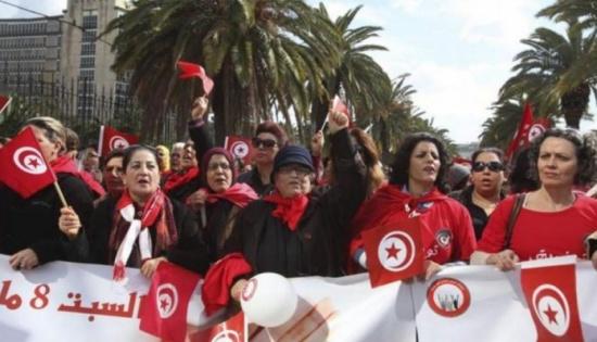 تونس… مسيرة للمطالبة بالمساواة في الميراث بين المرأة والرجل