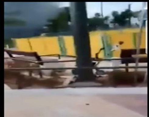 صواريخ غزة تقتحم إسرائيل و تحرق مستوطنات اليهود و يركضون من الرعب
