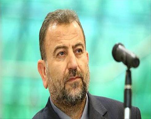 وفد من قيادة حماس بالخارج برئاسة العاروري يصل غزة