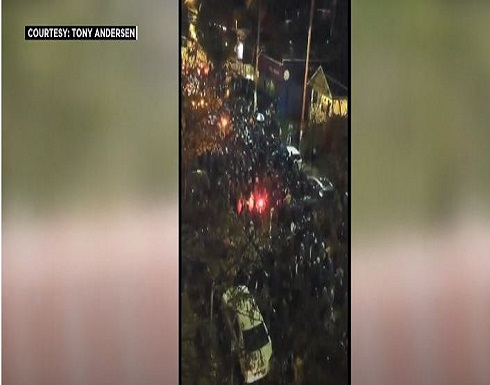 احتجاجات متفرقة في عدة مدن أميركية .. بالفيديو