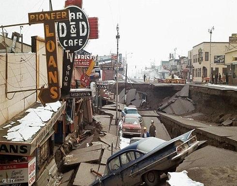 زلزال قوي يضرب سواحل ألاسكا وتحذير من تسونامي