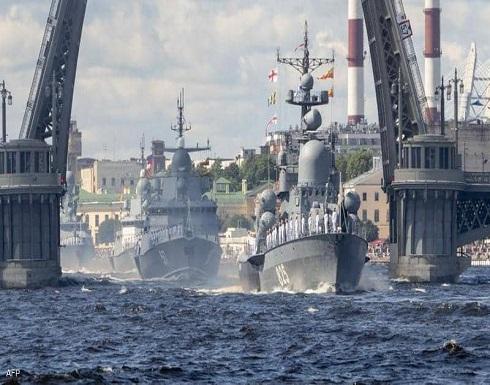 بالتزامن مع التوتر بأوكرانيا.. روسيا تحرك سفنا للبحر الأسود