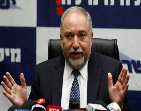 ليبرمان يكرر تهديده: لا يمكن منع حرب ضد غزة