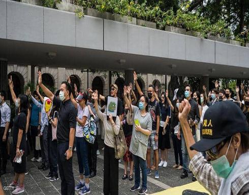 زعيمة هونغ كونغ تؤيد استخدام القوة ضد المحتجين