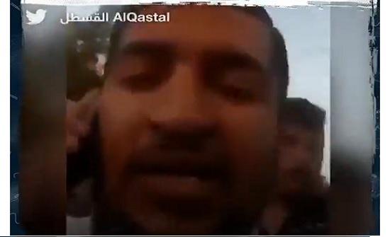 فلسطيني يستهزئ بالاحتلال : اضرب خلينا نروح نعيد