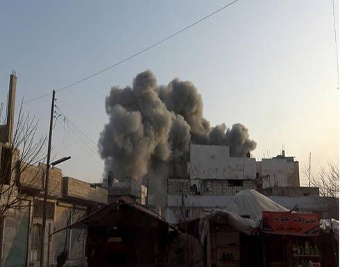 سوريا.. مقتل 4 مدنيين في قصف لمقاتلات روسية على إدلب