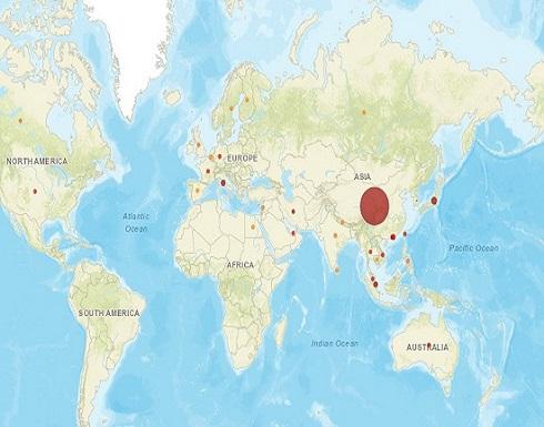 رابط للتعرف ساعة بساعة على إصابات كورونا عبر العالم
