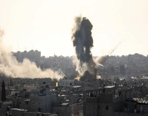 ارتفاع شهداء القصف الاسرائيلي على غزة الى 27