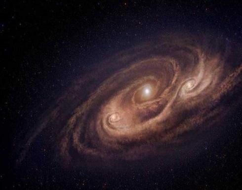 صورة مذهلة لمجرة تبعد عن الأرض 12 مليار سنة ضوئية