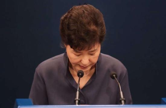 رئيسة كوريا الجنوبية تبدي استعدادها للتخلي عن السلطة