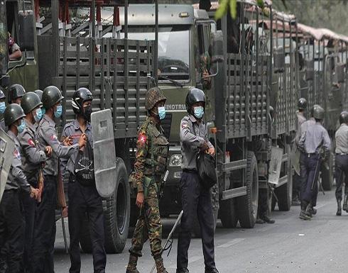 شاهد : قتلى وجرحى إثر قمع الاحتجاجات المناهضة للانقلاب في ميانمار