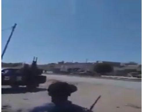 بالفيديو : لحظة أسقاط الطائرة الحربية تابعة للجيش الليبي