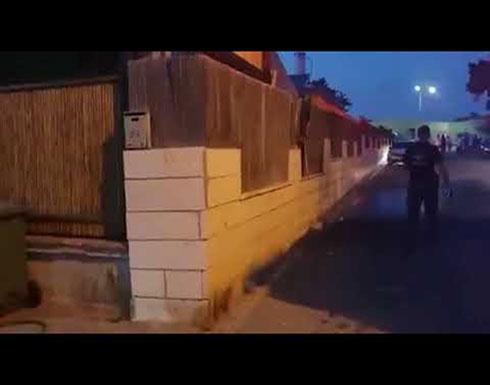 """فيديو : إصابة مستوطنين اثنين في """"سديروت"""" بشظايا صواريخ أطلقت من غزة"""