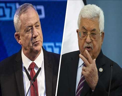 """غانتس: عباس """"تسلق شجرة"""" يصعب النزول منها"""