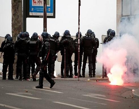 """احتجاجات فرنسية ضد عنف الشرطة و ضد قانون """"الأمن الشامل"""" .. بالفيديو"""