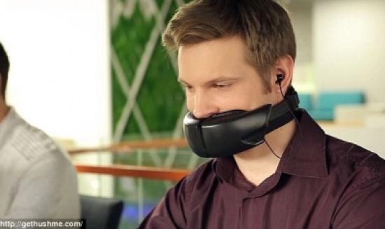بالفيديو – جهاز جديد يريحك من الثرثرة .. ويحمي خصوصيتك