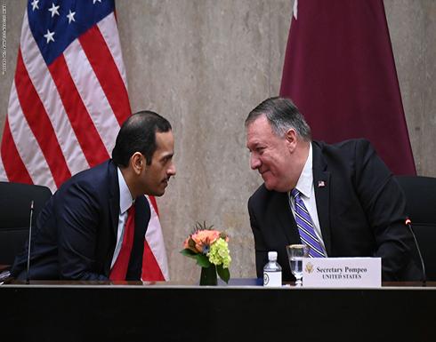 بيان أمريكي قطري يعبر عن القلق من الوضع الإنساني في غزة والمنطقة