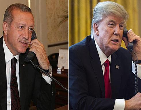 """ترامب وأردوغان يبحثان قضايا تجارية وصفقة """"إس400"""" الروسية"""