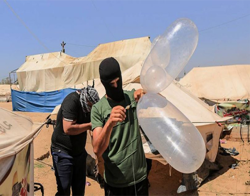 اسرائيل اليوم: بالونات غزة حولت حياة  مستوطني الغلاف لجحيمٍ لا يطاق