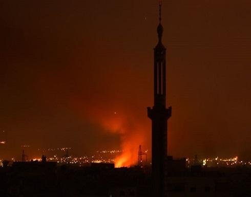 المرصد : مقتل 12 تابعين لإيران بقصف إسرائيلي على دمشق