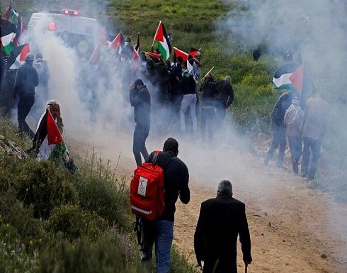 إسرائيل تستخدم مسيّرات لتفريق متظاهرين فلسطينيين في الضفة والقدس