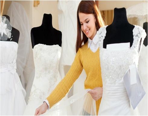 بالصور : قبل التسوّق لاختيار فستان زفافكِ.. ضعي هذه الأمور في اعتباركِ
