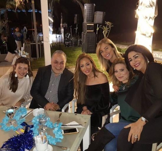 شاهد.. ريهام سعيد تحتفل بـ سبوع مولودها طارق بحضور عدد من النجوم