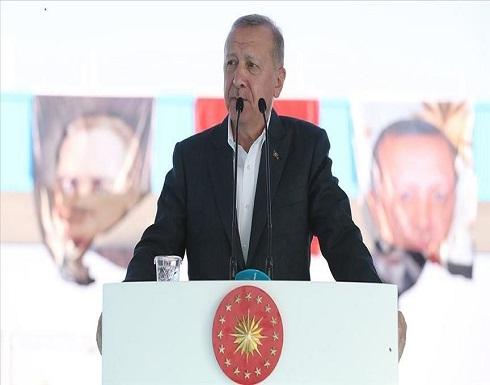 أردوغان: نناضل لصون حقوقنا ولا مطامع لنا بحقوق أحد