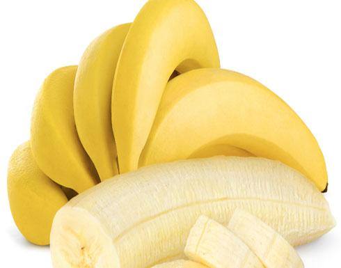 فوائد الموز تتغير حسب لونه
