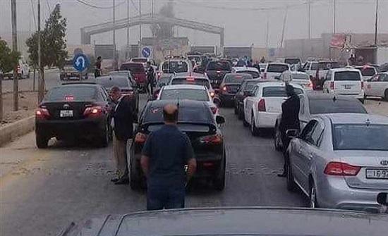 مصدر : لامباحثات لفتح معبر ثانٍ بين الأردن وسوريا