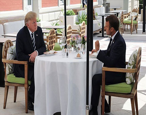 مسؤول فرنسي: ماكرون أبلغ ترامب بحضور ظريف إلى قمة السبع