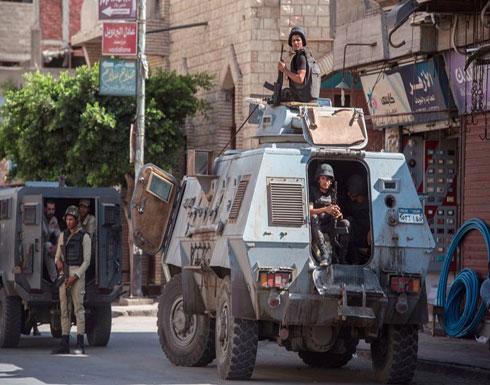 إصابة 4 رجال شرطة بهجوم مسلح على حاجز أمني في مصر