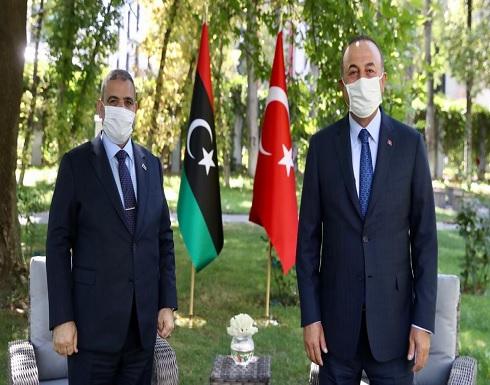 وزير الخارجية التركي: تعاوننا مع ليبيا الشقيقة يزداد قوة يوماً بعد يوم