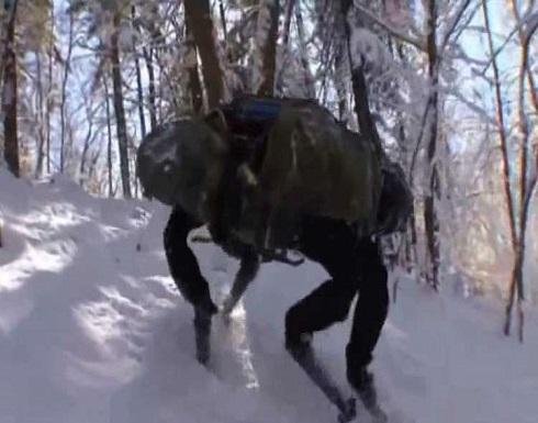 روبوتات روسية بأربعة أرجل للطرق الوعرة!